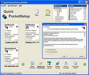 Quick PocketSetup 1.0.2009.5